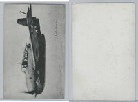 WC 1940's Photo Card, WW II Airplanes (5X8 in), Avenger