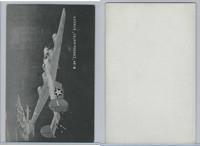 WC 1940's Photo Card, WW II Airplanes (5X8 in), B24 Consolidated Bomber