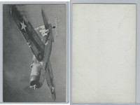 WC 1940's Photo Card, WW II Airplanes (5X8 in), Buccaneer