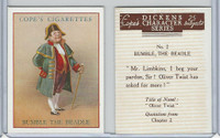 C132-72 Cope, Dickens Character, 1939, #2 Bumble The Beadle