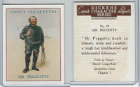 C132-72 Cope, Dickens Character, 1939, #10 Mr. Peggotty