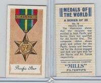 A46-32 Amalgamated, Medals Of World, 1959, #18 Pacific Star