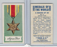 A46-32 Amalgamated, Medals Of World, 1959, #21 Africa Star