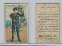 T81 Recruit, Military, 1908, Admiral Navy Germany