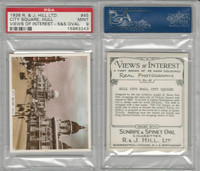 H46-96 Hill, Views of Interest, 1938, #45 City Square, Hull, PSA 9 Mint