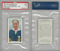 G12-99 Gallaher, Sporting Personalities, 1936, #19 Howcroft, Football, PSA 7 NM