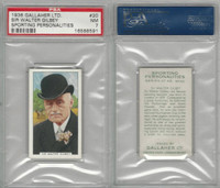 G12-99 Gallaher, Sporting Personalities, 1936, #20 Gilbey, Hunting, PSA 7 NM