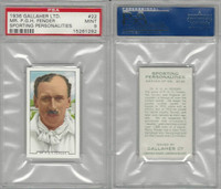 G12-99 Gallaher, Sporting Personalities, 1936, #22 Fender, Cricket, PSA 9 Mint