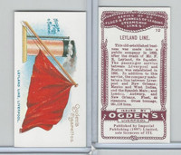 I0-0 Imperial, Flags & Funnels Steamship Lines, 1997, #12 Leyland Line