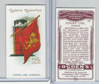 I0-0 Imperial, Flags & Funnels Steamship Lines, 1997, #22 Cunard Line