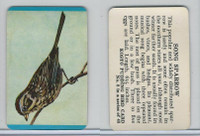 F218-2 Kosto Pudding, Bird Cards, 1964, #8 Song Sparrow