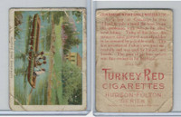 T72 Turkey Red, Hudson - Fulton Series, 1909, Fulton's First Experiment