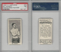 C0-0 Cartledge, Famous Prize Fighters, 1938, #19 Bill Doherty, PSA 7 NM