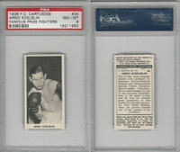 C0-0 Cartledge, Famous Prize Fighters, 1938, #34 Arno Koelblin, PSA 8 NMMT