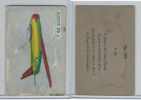 W673 Wildman, Trading Cards, Navy Ships, Airplanes, 1950, #102 F86 Sabre