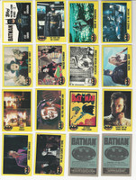 1989 Topps, Batman Movie, Complete 2nd Series of 132 Cards, WMX