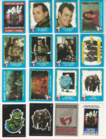 1989 Topps, Ghost Busters II, Complete Set of 88 Cards & 11 Stickers, WMX