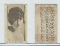 T85-1 Tobacco Products Corp, Movie Stars, 1922, #65 Mabel Normand