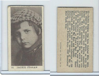T85-1 Tobacco Products Corp, Movie Stars, 1922, #71 Jackie Coogan