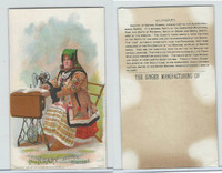 H639 Singer Sewing, Costumes of all Nations, 1892, Hungary, Austria