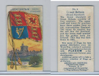 E18-1D American Chewing Corp., Flagum, 1910, #9 Great Britain