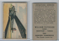 V88 Paterson, Aviation Series, 1930, #10 Beardmore Inflexible Airplane