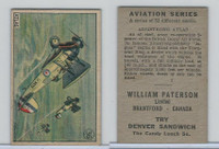 V88 Paterson, Aviation Series, 1930, #36 Armstrong Atlas Airplane