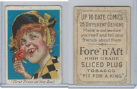 T114 Fore'n'Aft, Up To Date Comics, 1910, First Prize At The Ball