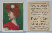 T114 Fore'n'Aft, Up To Date Comics, 1910, Hello Honey