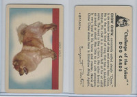 F279-5 Quaker, Challenge of the Yukon, Dog Cards, 1950, Chow Chow