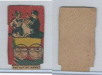 W539 Strip Card, Charlie Chaplin, 1920's, Get Out Of Here