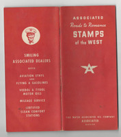 UO Misc, Associated Oil, Stamps Of The West, Album With 100 Stamps