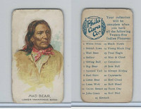E46 Philadelphia Caramel, Indian Pictures, 1911, Mad Bear, Sioux