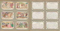Liebig, Set 6 Cards, F1378, 1938, Marriage Through The Ages