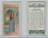 C15 Imperial Tobacco, Gardening Hints, 1923, #20 Home-Made Propagating