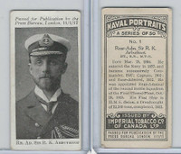 C23 Imperial Tobacco, Naval Portraits, 1915, #1 RK Arbuthnot