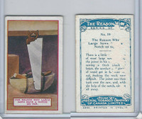 C32 Imperial Tobacco, The Reason Why, 1924, #19 Large Saws