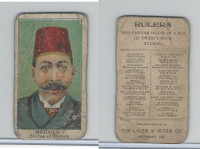 E6 Lauer & Suter, Rulers, 1910, Mehmed V - Turkey