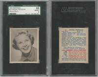 1948 Bowman, Movie Stars, #22 Mona Freeman, SGC 88 NMMT