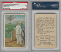 T70 ATC, Historical Events, 1910, Dewey at Battle of Manlia, PSA 3 VG