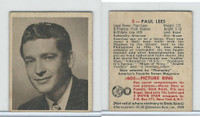 1948 Bowman, Movie Stars, #3 Paul Lees