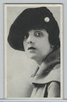 W Card, Kromo Gravure Silent Movie Stars, 1920, Alina K.