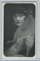 W Card, Kromo Gravure Silent Movie Stars, 1920, Ann Murdock