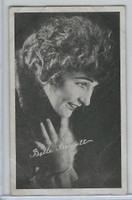 W Card, Kromo Gravure Silent Movie Stars, 1920, Belle Bennett