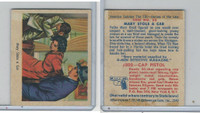 1949 Bowman, America Salutes FBI, #22 Mary Stole A Car