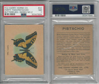 FC2, Harry Horne Co, Butterflies, 1920's Canada, # Forty Two, PSA 7 NM