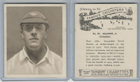 H46-54 Hill Tobacco, Famous Cricketers, 1925, #33 A. Dolphin, Yorkshire