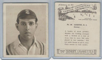 H46-54 Hill Tobacco, Famous Cricketers, 1925, #48 H.J. Lockton, Surrey