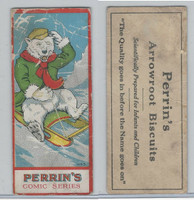 DC9 Perrin Biscuit, Comic Series, 1920, Polar Bear on Sled