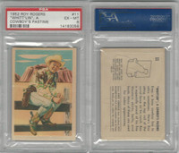 F278-19 Post Cereals, Roy Rogers Pop-Out, 1953, #11 Whittlin, PSA 6 EXMT